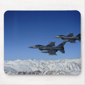 US Air Force F-16 Fighting Falcons Mouse Pad