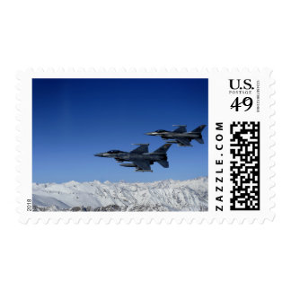 US Air Force F-16 Fighting Falcons Postage Stamp