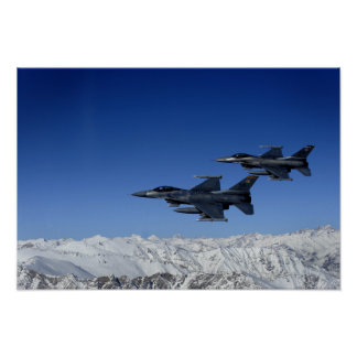 US Air Force F-16 Fighting Falcons Print