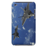 US Air Force F-22 Raptors in flight near Guam Barely There iPod Cover