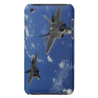US Air Force F-22 Raptors in flight near Guam iPod Touch Covers