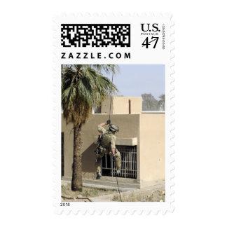 US Air Force Pararescueman Postage Stamp