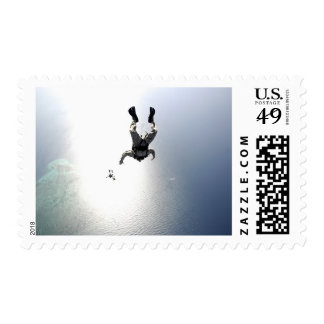 US Air Force pararescuemen Stamp
