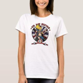 US Air Guitar - 10 Year Anniversary - Ladies T-Shirt