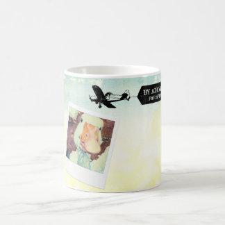 US Air Mail Goose Tan Colored Coffee Mug