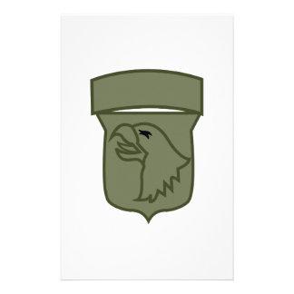US Airborne Stationery Design