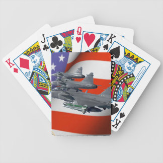 US Airforce Bicycle Playing Cards