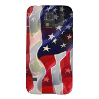 US American Flag Galaxy S5 Cases