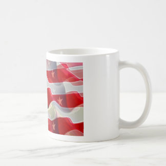 US American Flag Coffee Mug