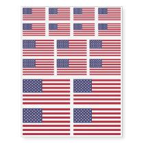 US AMERICAN FLAG | CUSTOM TEMPORARY TATTOOS