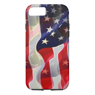 US American Flag iPhone 7 Case