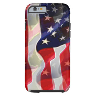 US American Flag Tough iPhone 6 Case