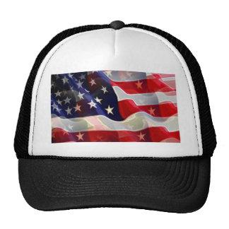 US American Flag Trucker Hat