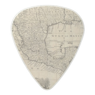US and Mexico Acetal Guitar Pick