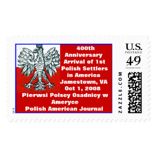 US and Polish Colors 400th Anniversary lst Poles Postage
