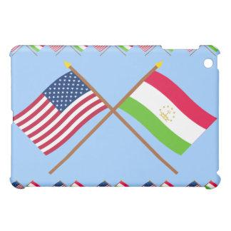 US and Tajikistan Crossed Flags Case For The iPad Mini