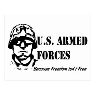 US Armed Forces Postcard