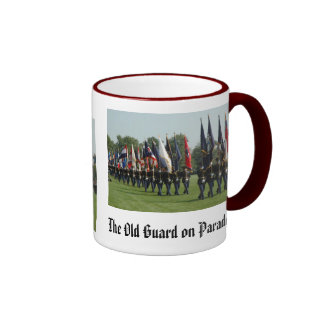 US Army 3d Infantry Regiment - The Old Guard Ringer Coffee Mug
