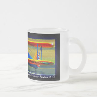 US ARMY FROSTED GLASS COFFEE MUG