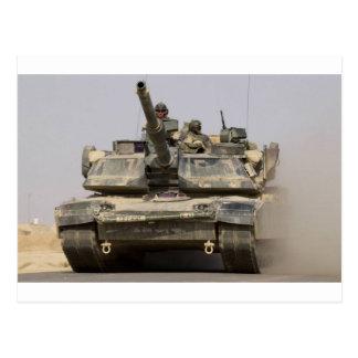 US_Army_M1A1_Abrams_main_battle_tank Postcard