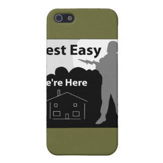 US Army - Rest Easy We're Here Case For iPhone SE/5/5s