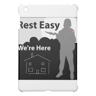 US Army - Rest Easy We're Here iPad Mini Covers