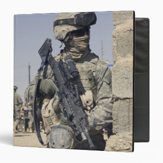 US Army Soldier armed with a MK-48 Binder