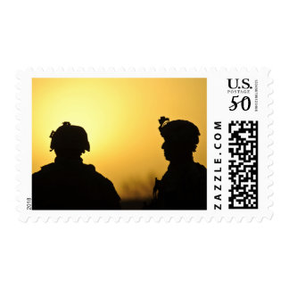 US Army soldiers Postage