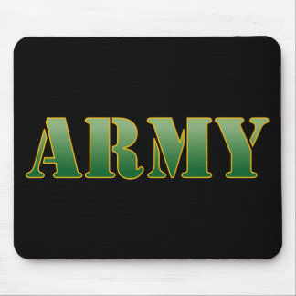US Army w/Green Text Mouse Pad