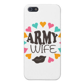 US Army Wife Case For iPhone 5