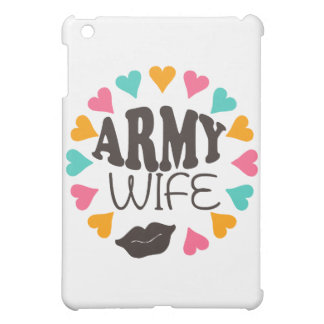 US Army Wife Cover For The iPad Mini