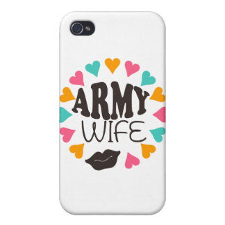 US Army Wife iPhone 4 Cover