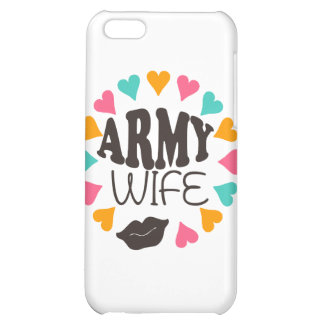 US Army Wife iPhone 5C Cases