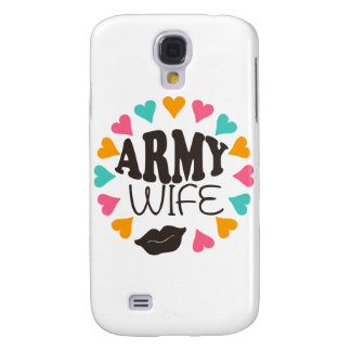 US Army Wife Samsung Galaxy S4 Covers