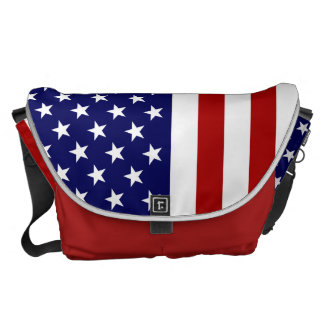 US Bag With The American Flag Courier Bags