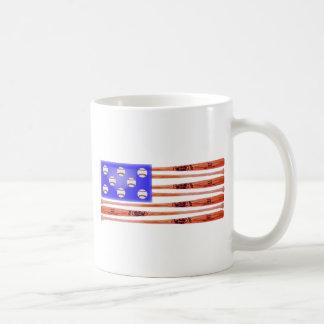 US Baseball Flag Products Mug