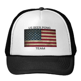 US BEER PONG TEAM HAT