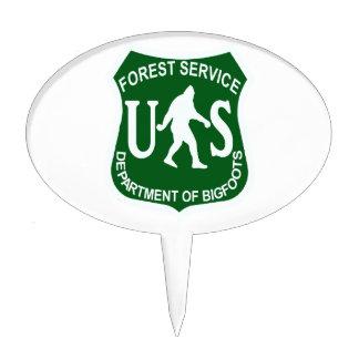 US Bigfoot Service Cake Topper