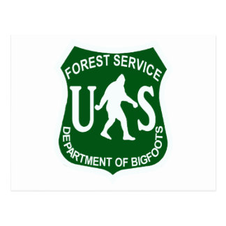 US Bigfoot Service Post Cards