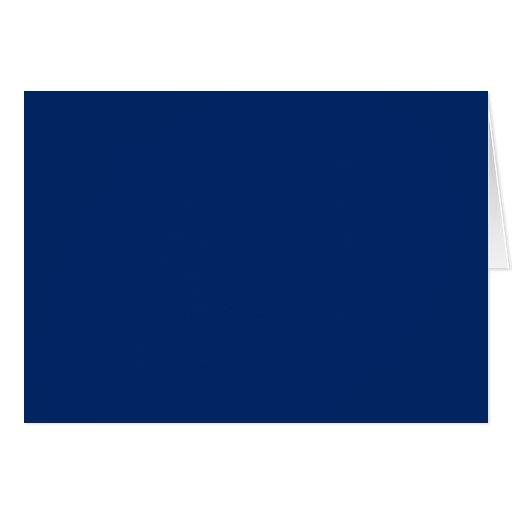 US Blue Greeting Card