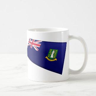US & British Virgin Islands Flags Coffee Mug