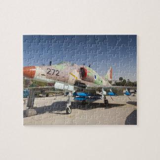 US-built A-4 Skyhawk fighter Jigsaw Puzzle