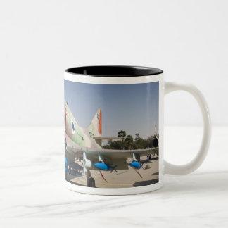 US-built A-4 Skyhawk fighter Two-Tone Coffee Mug