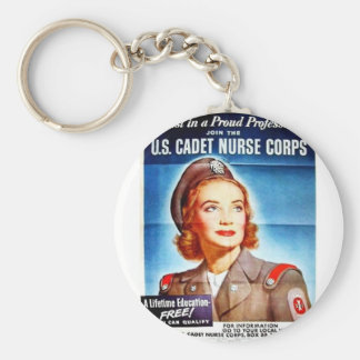 Us Cadet Nurse Corps Key Chain