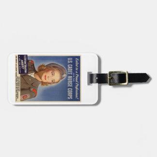 US Cadet Nurse Corps Luggage Tag