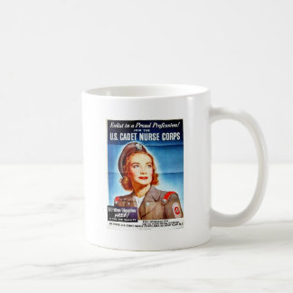 Us Cadet Nurse Corps Classic White Coffee Mug