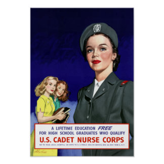 US Cadet Nurse Corps -- Recruiting Posters