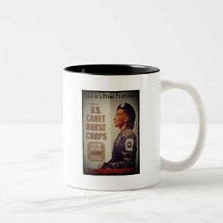 US Cadet Nurse in Baret Coffee Mug