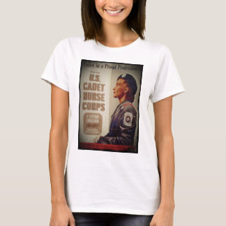US Cadet Nurse in Baret T-Shirt