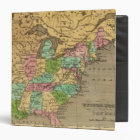 US, Canada Hand Colored Atlas Map Binder